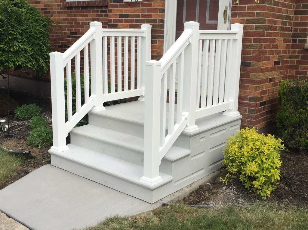 Pre Cast Railings And Vinyl Railings